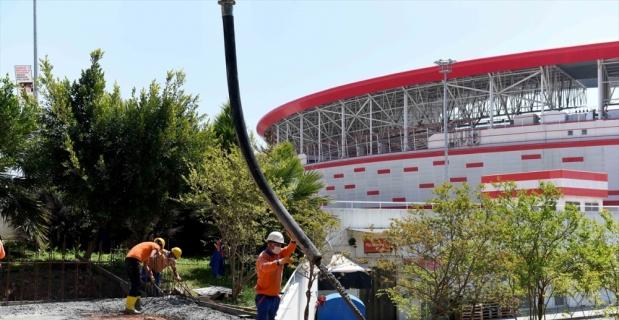 Antalyaspor taraftarı için lokal yapılıyor