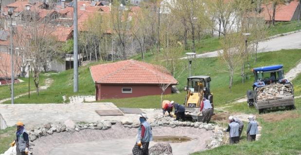 Isparta'da atıl durumdaki mesirelik alan yenileniyor