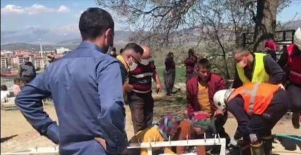Isparta'da kafasına demir kanca saplanan çocuk tedavi altına alındı