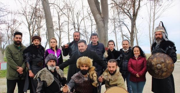 """Isparta'da """"Türklerin Şafağı Miryokefalon"""" filminin çekimleri devam ediyor"""