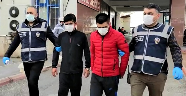 Kahramanmaraş'ta öğrenci yurdunun musluklarını çalan 2 kişi tutuklandı