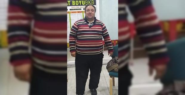 Mersin'de aşırı kilolarından sağlık sorunları yaşayan market çalışanı 1 yılda 86 kilo verdi