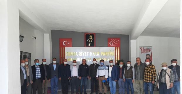 Mersin'de siyasi partilere ziyaret