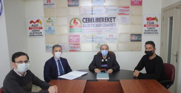 Osmaniye Gençlik ve Spor İl Müdürü Mustafa Loğoğlu CGC'yi ziyaret etti