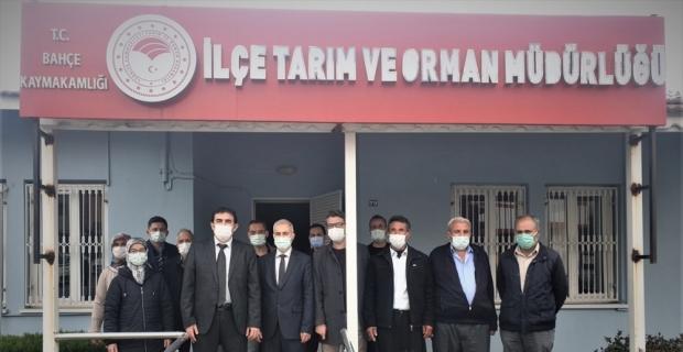 Osmaniye'de Ceviz Bahçesi Kurulumu Projesi'nin hibe sözleşmesi imzalandı