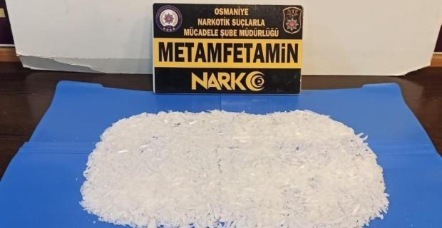 Osmaniye'de sentetik uyuşturucu ele geçirilen minibüsteki 2 zanlı tutuklandı