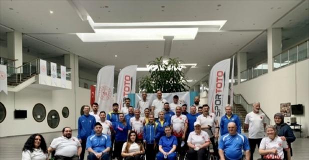 Paralimpik Atıcılık Milli Takımı, Ukrayna ile ortak kamp yapıyor