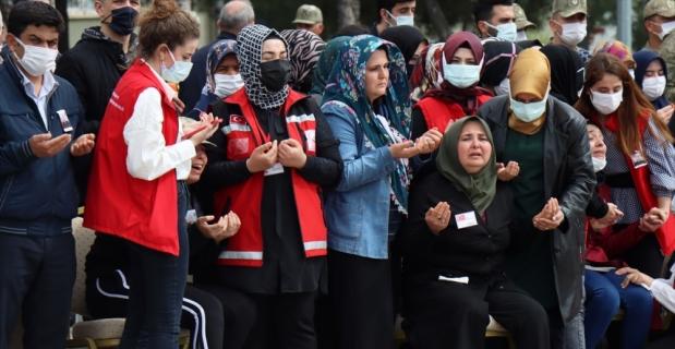 Şehit Piyade Uzman Onbaşı Ahmet Akdal'ın naaşı memleketine gönderildi