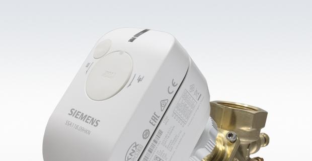 Siemens aktüatör serisinden maksimum enerji verimliliği ve daha düşük ses