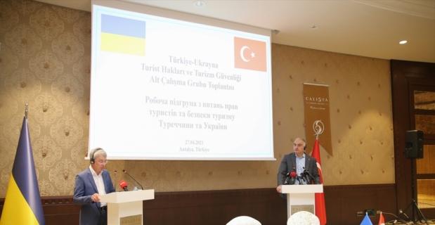 Ukrayna Turist Hakları ve Turizm Güvenliği Alt Çalışma Grubu Toplantısı (1)