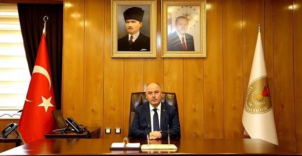Vali Coşkun'dan İstiklal Madalyası verilişinin 96.yıl dönümü mesajı