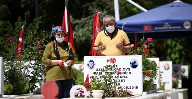 Adana, Hatay ve Osmaniye'de şehitlik ziyaretleri yapıldı