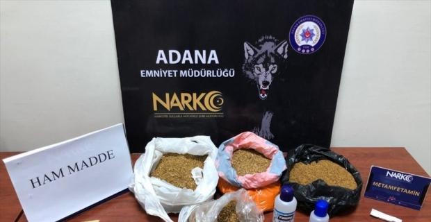 Adana'da nisan ayında düzenlenen uyuşturucu operasyonlarında 76 şüpheli tutuklandı