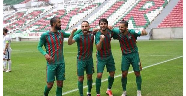 Amed Sportif: 4 – Kahramanmaraşspor: 1