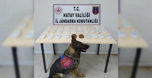 Hatay'daki uyuşturucu operasyonunda yakalanan 2 zanlı tutuklandı