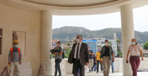 Hatay'da tarihi meclis binasındaki restorasyon çalışmaları haziranda tamamlanıyor