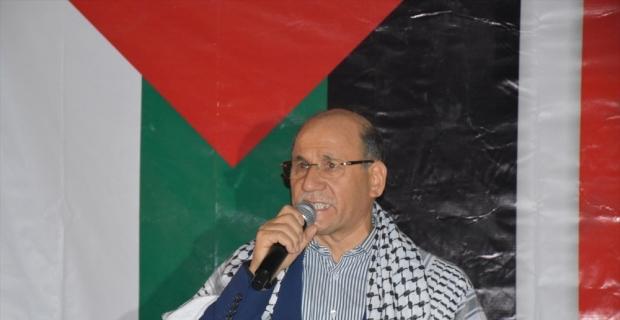 İsrail'in Filistinlilere yönelik saldırıları Adana'da protesto edildi
