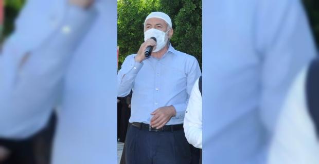 İsrail'in Filistinlilere yönelik saldırıları Tarsus'ta protesto edildi