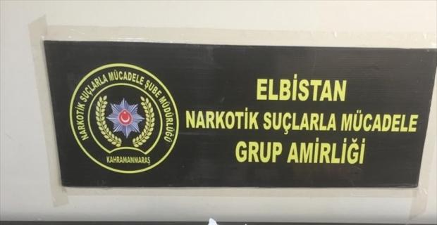 Kahramanmaraş'ta uyuşturucu operasyonunda 2 şüpheli tutuklandı