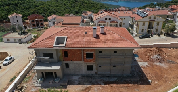 Kaş Belediyesinin Kreş ve Gündüz Bakımevi projesinde sona yaklaşılıyor