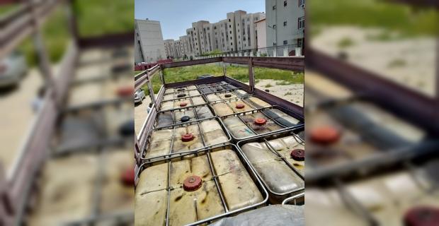 Mersin'de 14 bin litre kaçak akaryakıt ele geçirildi