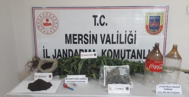 Mersin'de düzenlenen uyuşturucu operasyonunda 1 zanlı tutuklandı