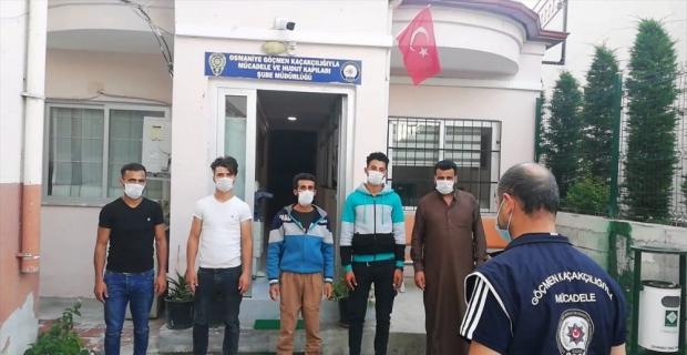 Osmaniye'de yurda kaçak yollarla giren 2 yabancı uyruklu yakalandı