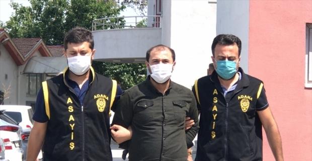 Adana'da 50 yıl 10 ay hapis cezasıyla aranan firari hükümlü yakalandı
