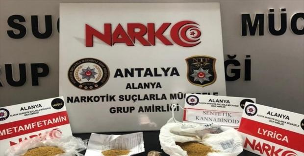 Alanya'da uyuşturucu operasyonunda bir kişi yakalandı