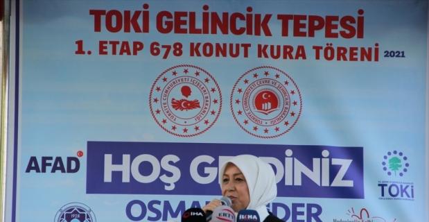Malatya'da Gelinciktepe deprem konutları için kura çekildi