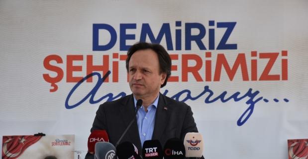 Sivas-Malatya arasındaki Demiriz Tren İstasyonunda şehit edilen 8 kişi törenle anıldı