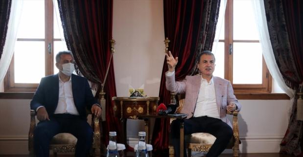 AK Parti'li Ömer Çelik'ten, Adana'da ziyaret ve inceleme: