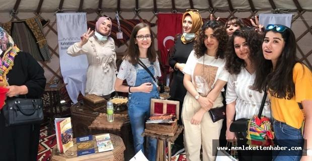 Ahlat'taki etkinliklerde Kahramanmaraş ilgi odağı oldu