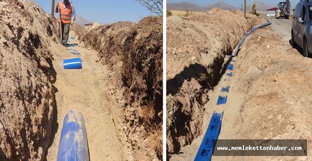 Bakış Mahallesindeki İçme Suyu Hattı Çalışmaları Tamamlandı