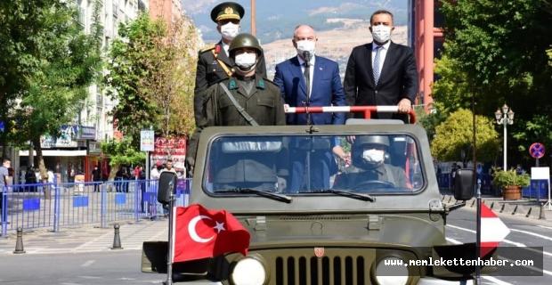 Kahramanmaraş'ta 30 Ağustos töreni coşkuyla kutlandı