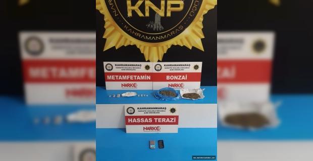 Kahramanmaraş'ta uyuşturucu operasyonu: 4 tutuklama
