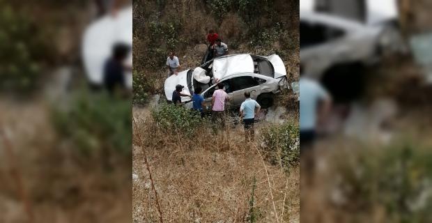 Osmaniye'de otomobil uçuruma devrildi: 1 ölü, 1 yaralı
