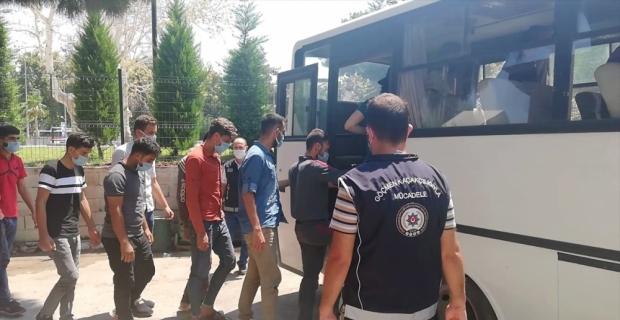 Osmaniye'de yurda yasa dışı yollardan giren 28 yabancı uyruklu yakalandı