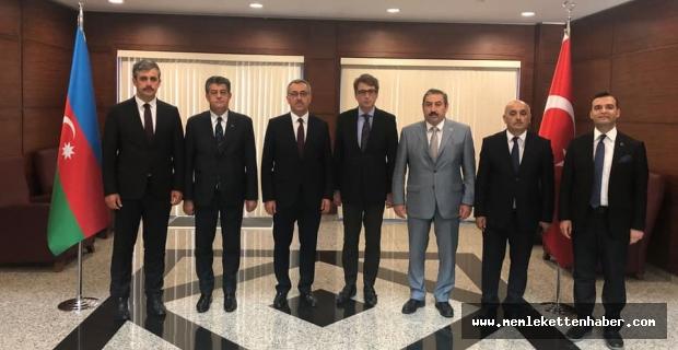 Başkan Güngör Kardeş Ülke Azerbaycan'da!