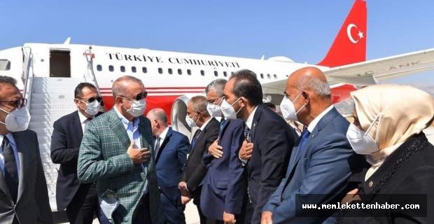 Cumhurbaşkanı Recep Tayyip Erdoğan Kahramanmaraş'ta