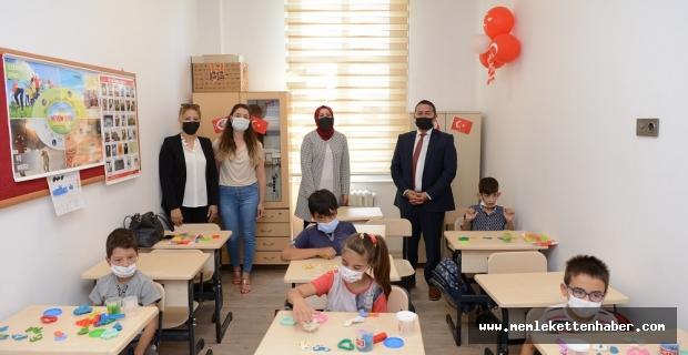 Dulkadiroğlu'ndakırtasiye yardımı yapıldı