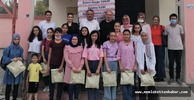 Kahramanmaraş'ta başarılı öğrenciler ödüllendirildi