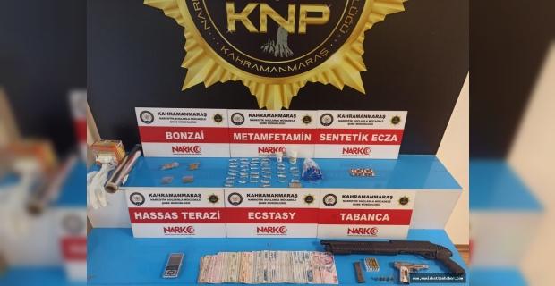 Kahramanmaraş'ta uyuşturucu operasyonu: 12 kişi tutuklandı