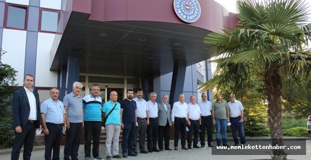 Rektör Prof. Dr. Niyazi Can, Kahramanmaraş Tarih Kültür ve Turizm Platformu Üyelerini Ağırladı