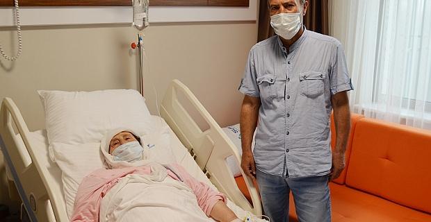 Kahramanmaraş'ta sağlığına kavuştu