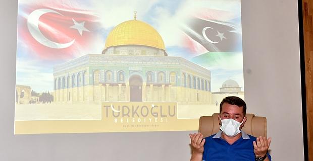 Türkoğlu'nda Mescid-İ Aksa'daki Filistinliler İçin Dualar Edildi