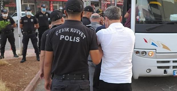Kahramanmaraş'ta sarı maden operasyonunda: 8 kişi tutuklandı