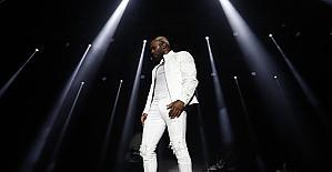 Amerikalı şarkıcı Jason Derulo, Antalya'da konser verdi
