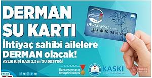 Kahramanmaraş#039;ta Su Tüketim...