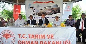 """Osmaniye'de üreticilere """"Akdeniz meyve sineği tuzağı"""" dağıtıldı"""